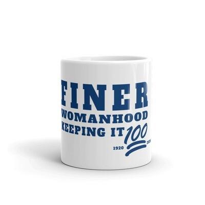 Finer Womanhood Centennial Mug