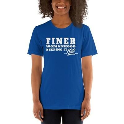 WHT Finer Womanhood Centennial T-Shirt