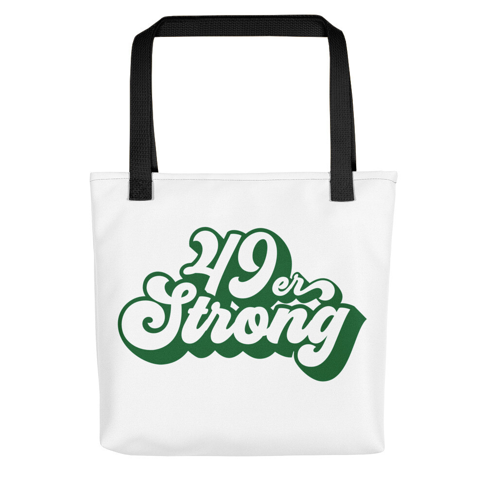49er Strong Tote bag