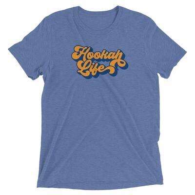 TRI-BLEND HOOKAH LIFE  t-shirt
