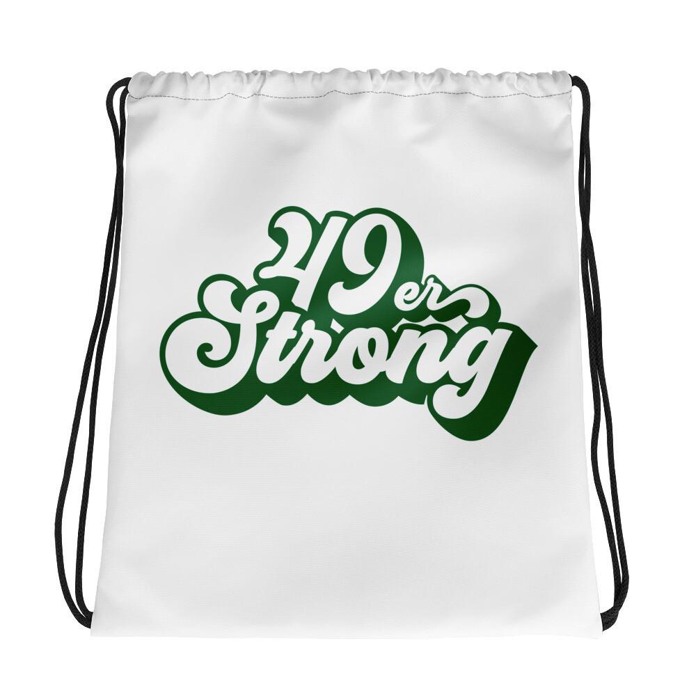 49er Strong Drawstring bag