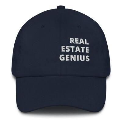 Real Estate Genius Dad hat