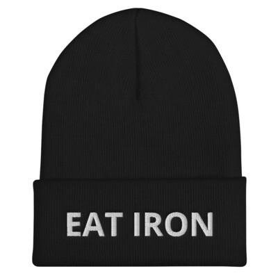 Eat Iron Cuffed Beanie