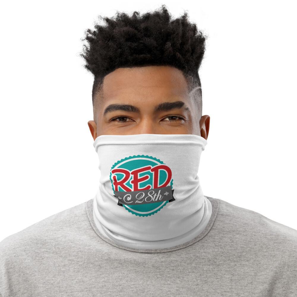 Red @28th Neck Gaiter