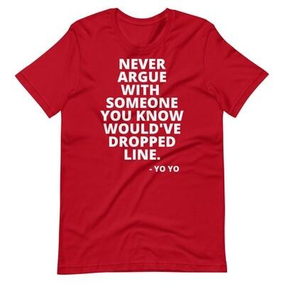 NUPES DON'T ARGUE T-Shirt