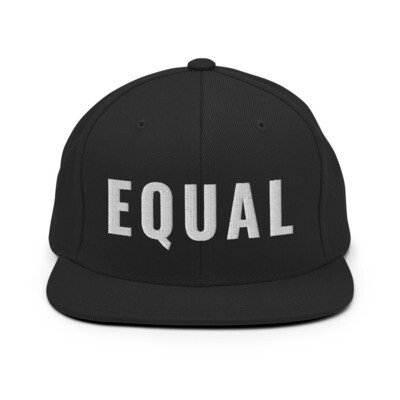 EQUAL Snapback Hat