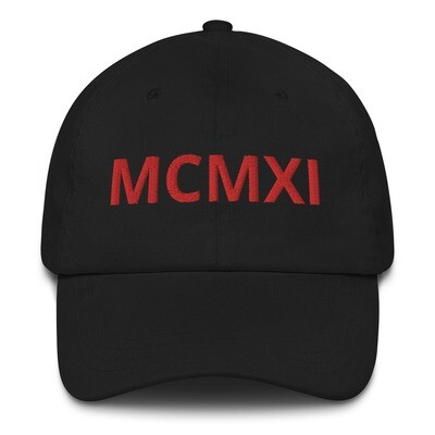 MCMXI Dad hat