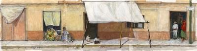 Boceto De Banqueta #11