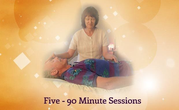 Five - 90 Minute Sessions Package