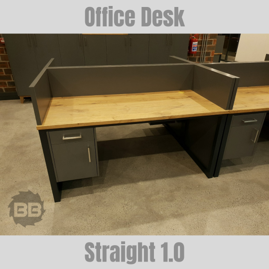 Straight 1.0 Office Desk