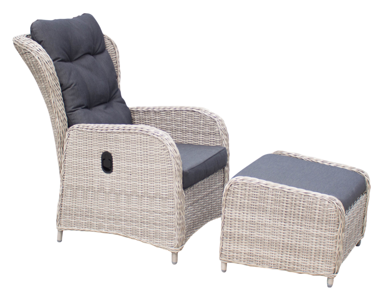 Ariana Reclining Chair & Footstool