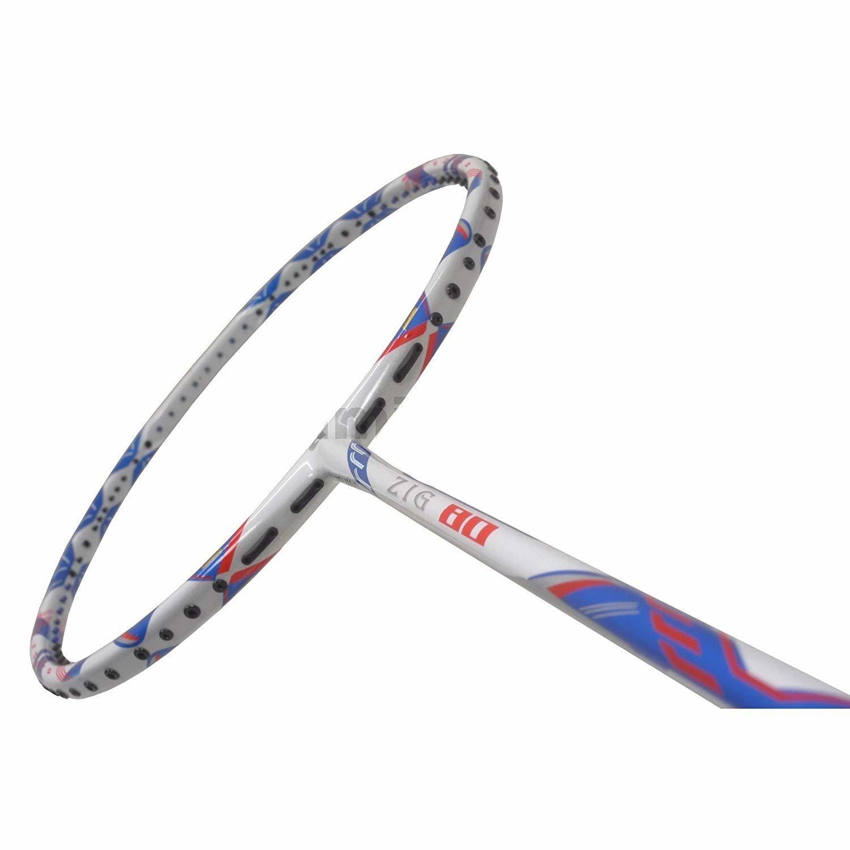 Apacs Zig 80 White Badminton Racquet