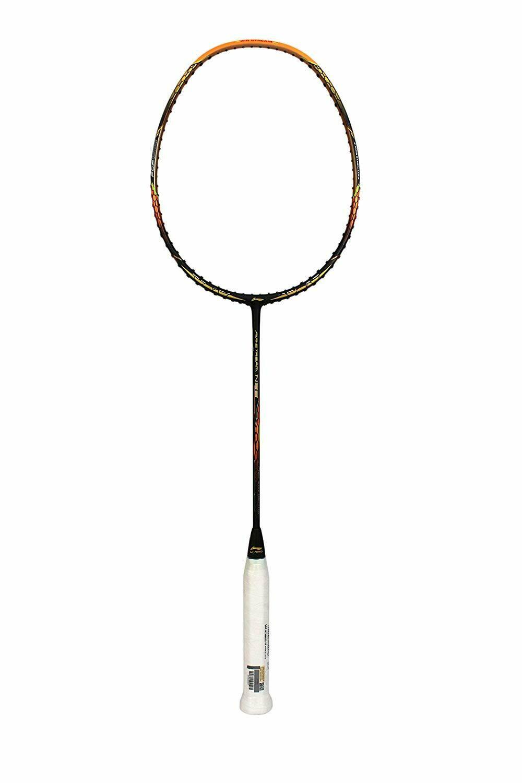 LI-NING Air-Stream N 99 Mega Power Series Chen Long Gold Medal Badminton Racquet (Black Orange)