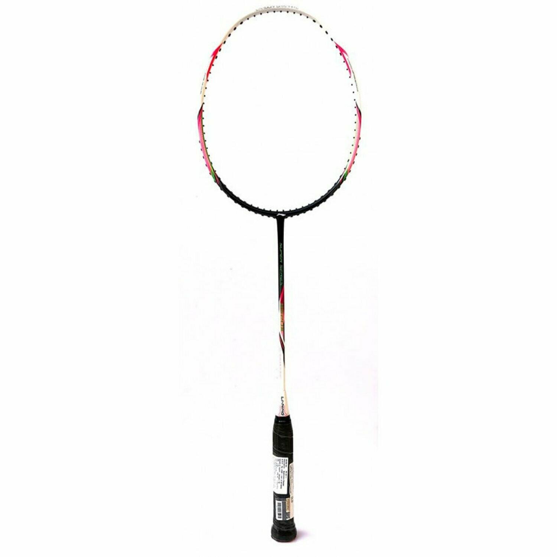 LI-NING SS-20 III Carbon-Fiber Badminton Raquets (White/Black)