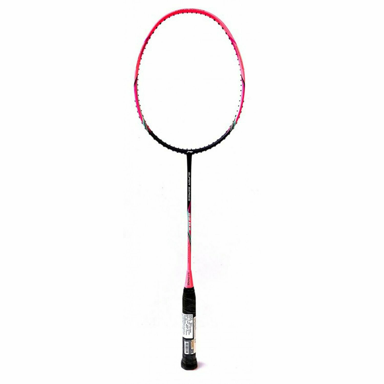 LI-NING SS-8 III Carbon-Fiber Badminton Raquets (Pink/Purple)