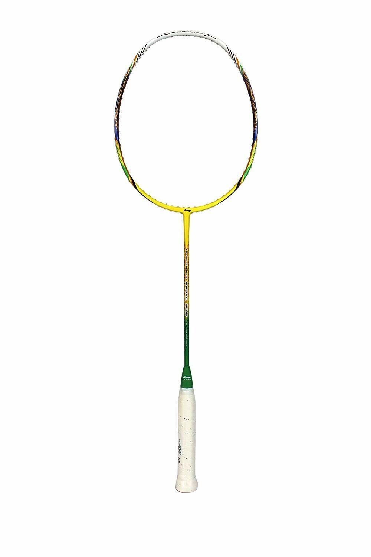LI-NING  Ultra Carbon Brazil 2016 Ultra Sharp Series Badminton Racquet - Yellow - Slim Racquet