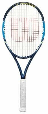 Wilson Ultra 100-3 Carbon-Fiber Tennis Racquet, 4 3/8inches