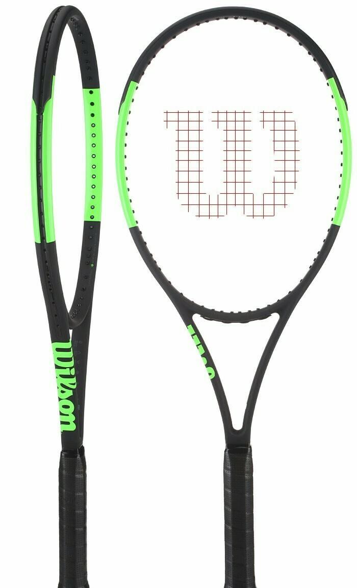Wilson Blade 98 (16x19) Countervail Tennis Racquet - (Grip 4 3/8)
