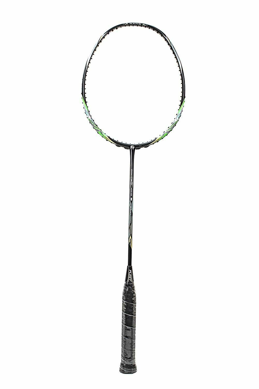 Fleet Control Wind 6 Black and Green Badminton Racquet