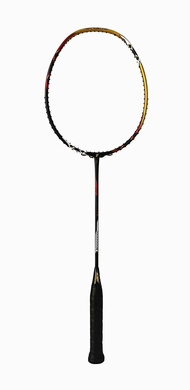 Fleet Nano FT Force Gold Black Professional Badminton Racquet Unstrung 4U-G2 35 LBS With Racquet Cover