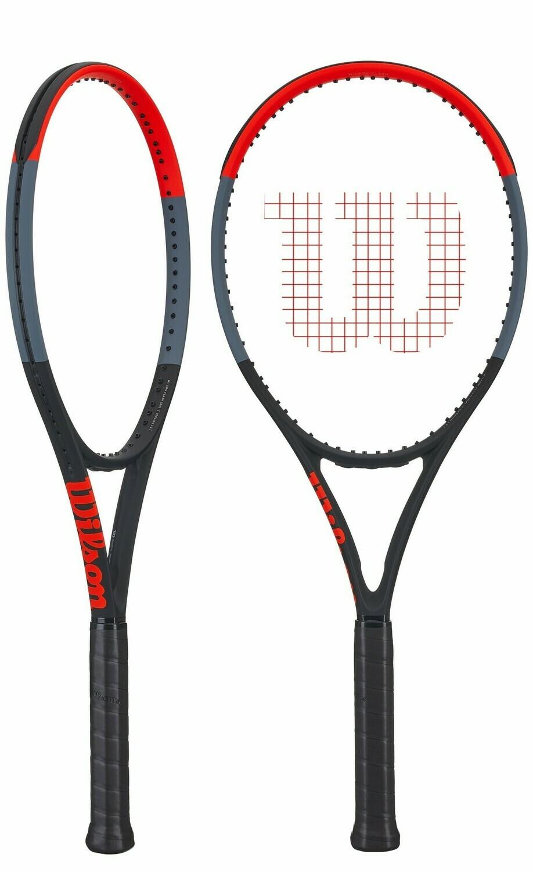 Wilson Clash 100L Tour Tennis Racquet-4 1/4