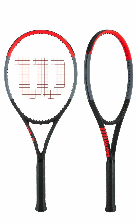 Wilson Clash 100 Tennis Racquet-4 3/8