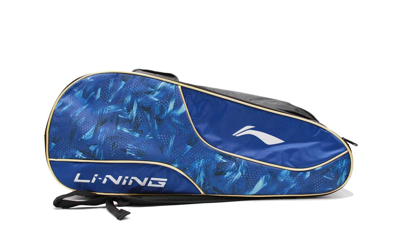 LI-NING ABDN238-1 Blue 2 in 1 Racket Bag-Kit Bag-
