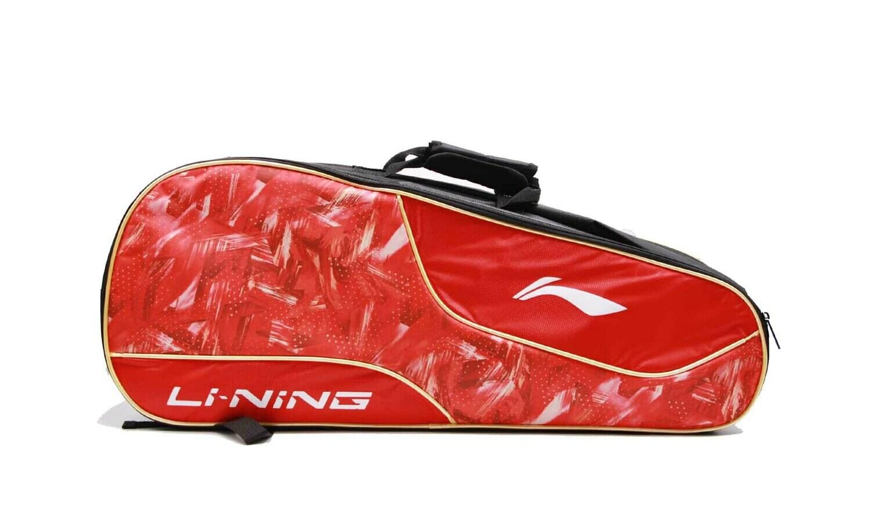 LI-NING ABDN238-2 Red 2 in 1 Racket Bag-Kit Bag-
