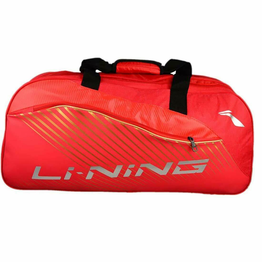 LI-NING ABDN146-1 6 in 1Thermal Kit Bag-Red