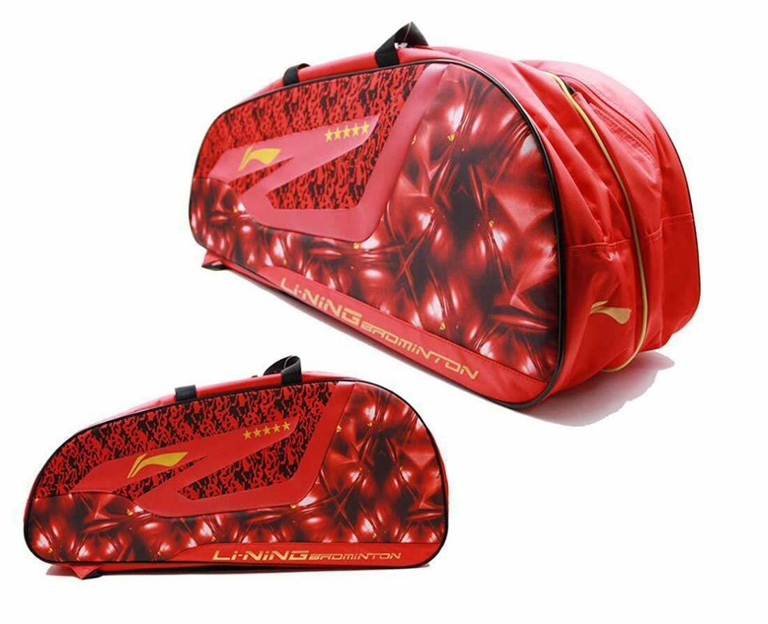 LI-NING ABDN182-2 12 in 1 Kit Bag Red