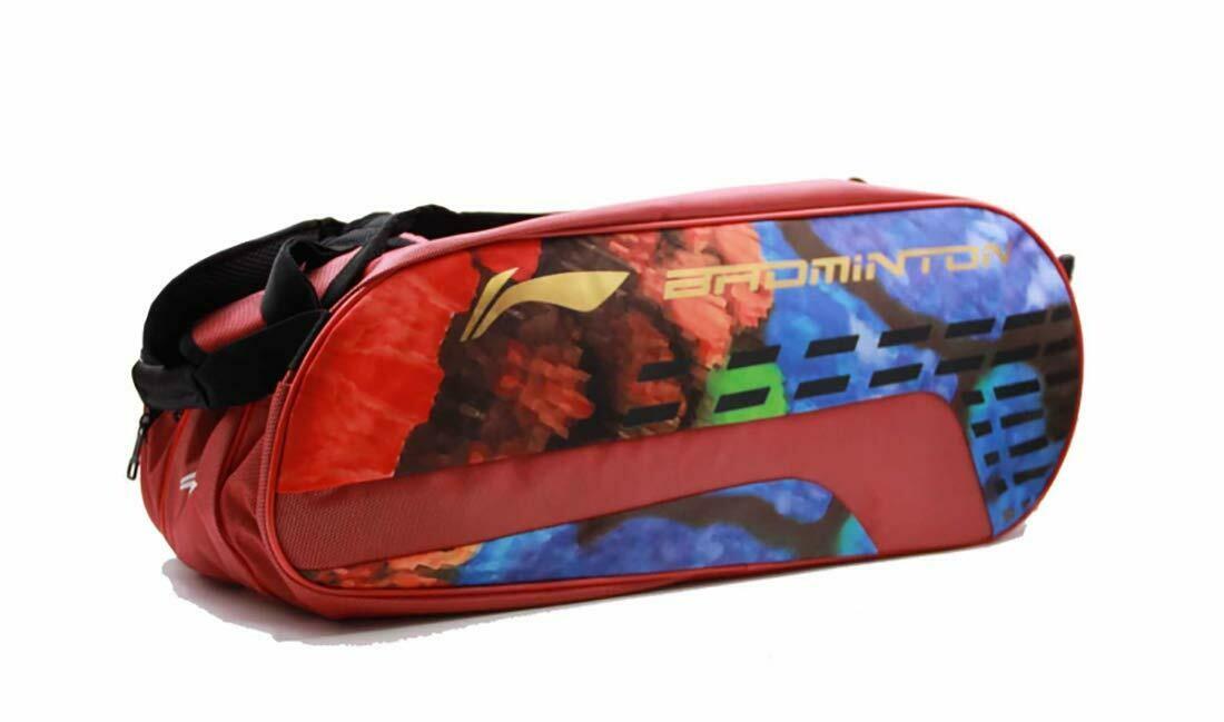 LI-NING ABDN178-1 12 in 1 Kit Bag-Red