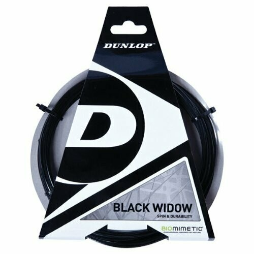 Dunlop Black Widow Spin And Durability Biomimetic 16G Tennis String