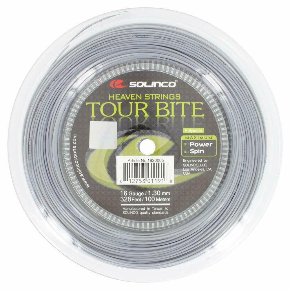 Solinco Tour Bite Tennis String 328 foot / 100m (16 gauge)