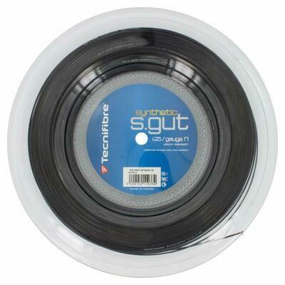 Tecnifibre Synthetic Gut Tennis String Reel-Black-17