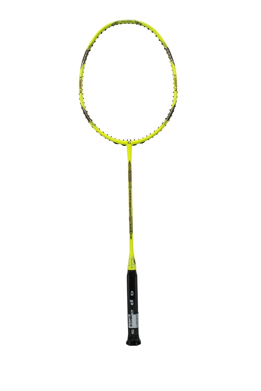 Apacs Feather Weight 75 Florescent Yellow Badminton Racquet -