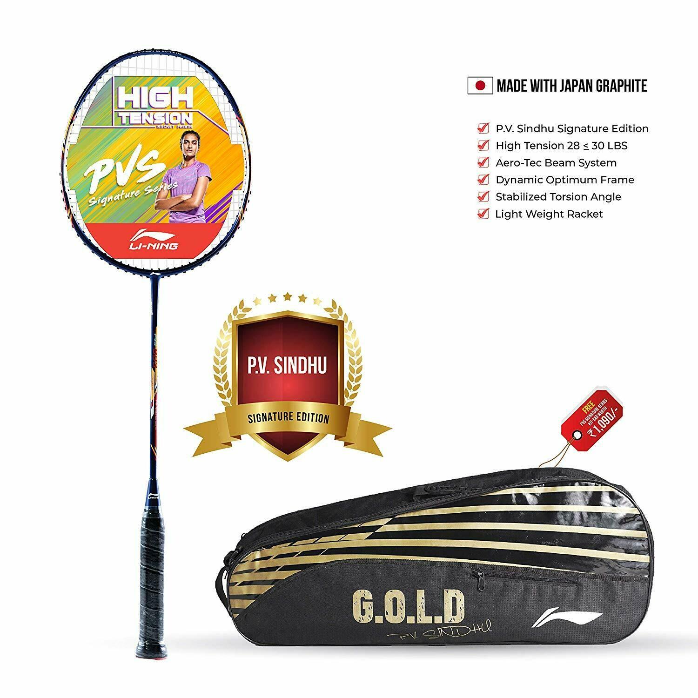 LI-NING PVS903 Signature Edition Badminton Racquet With Bag And String
