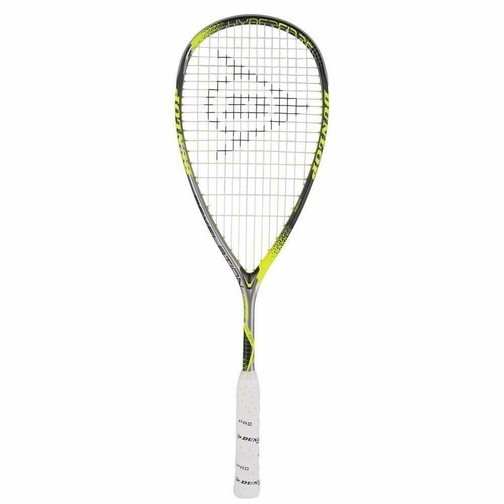 Dunlop Hyperfibre+ Revelation 125 Strung Squash Racquet