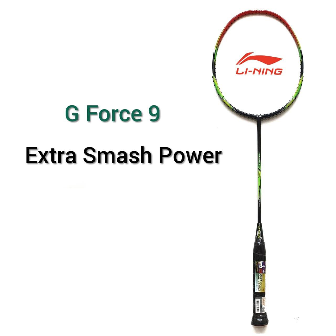 LI-NING G-Force 9 Badminton Racquet-