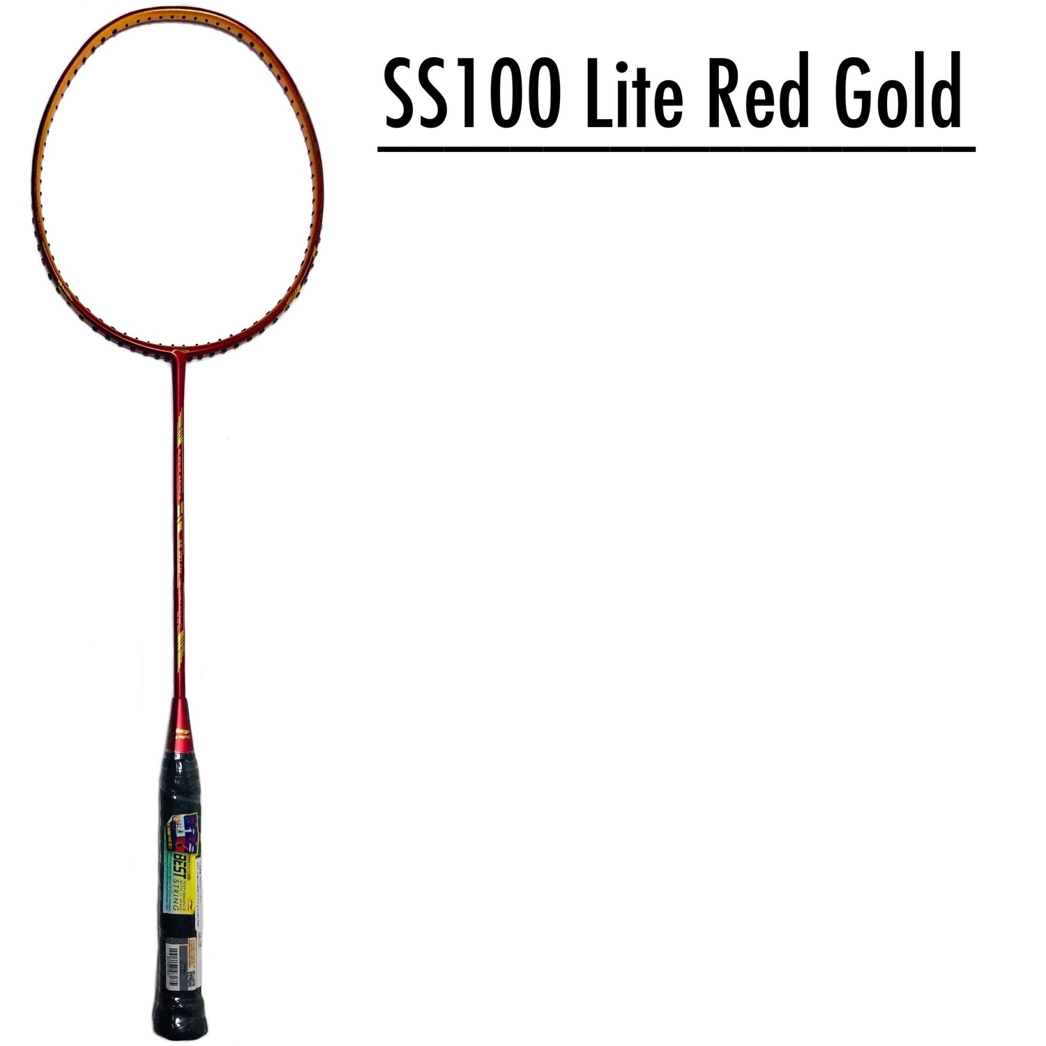 LI-NING Super Series SS 100 Lite Red And Gold -