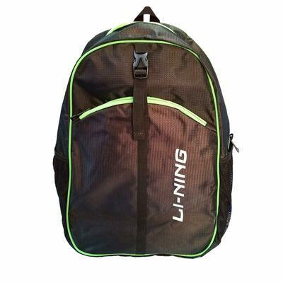 LI-NING Sports Kitbag - Black Lime