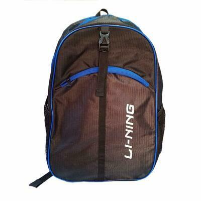 LI-NING Sports Kitbag - Black Blue
