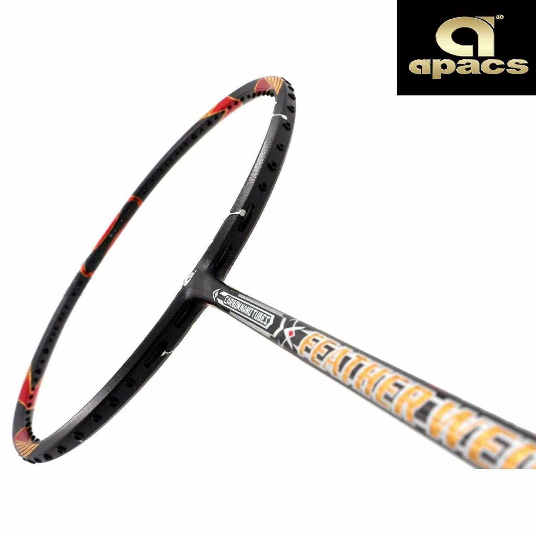 Apacs Feather Weight 200 Black Badminton Racquet