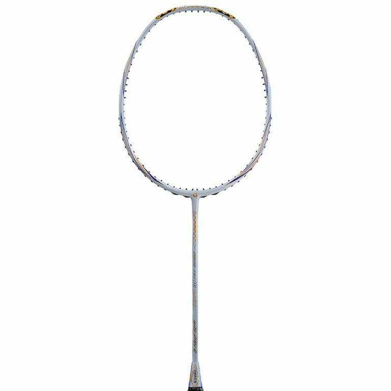 Apacs Ziggler LHI 18 White Badminton Racquet