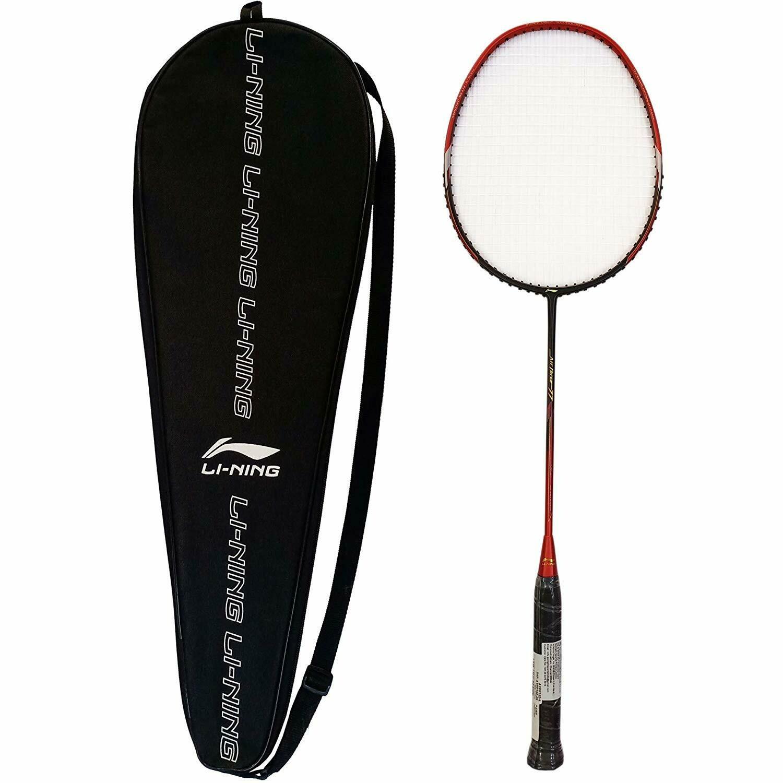 LI-NING Air Force 77 Red/Black Badminton Racquet