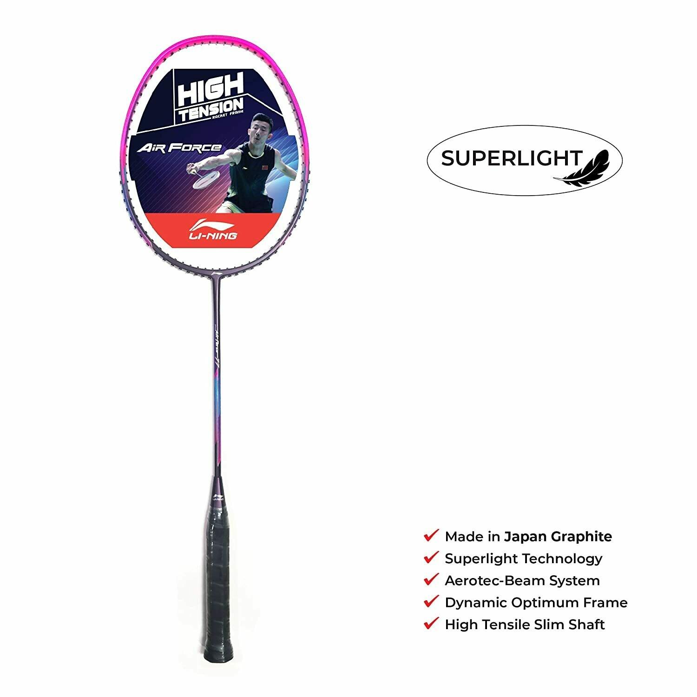 LI-NING Air Force 77 Purple/Pink Badminton Racquet