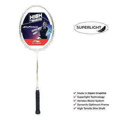 LI-NING Air-Force 79 White Badminton Racquet