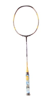 Apacs Z-Ziggler Limited Edition Black/Orange Badminton Racquet- with Full Cover