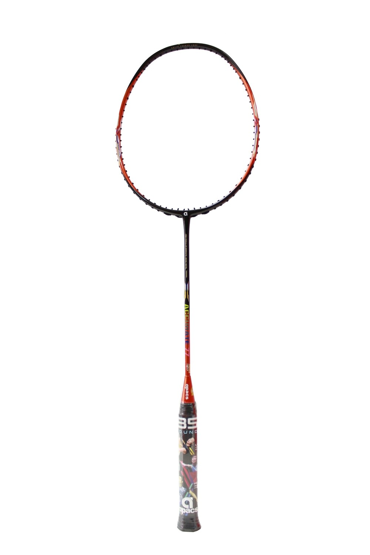 Apacs Accurate 77 Orange/Black Badminton Racquet- with Full Cover