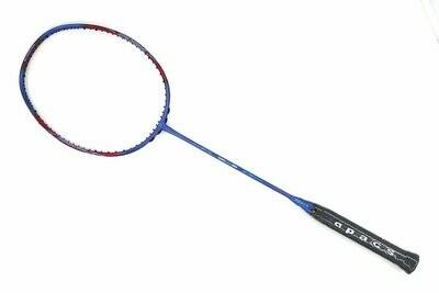 Apacs Ziggler 565 Blue Red Compact Frame Badminton Racket (4U)