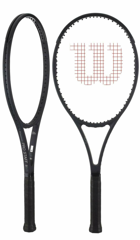 Wilson Pro Staff RF97 v13 Tennis Racquet-(4 3/8)